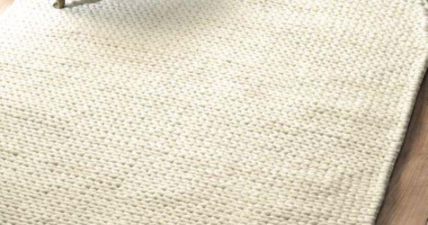 Rugs Usa Textures Handmade Wool Cable White Rug Rugs Usa