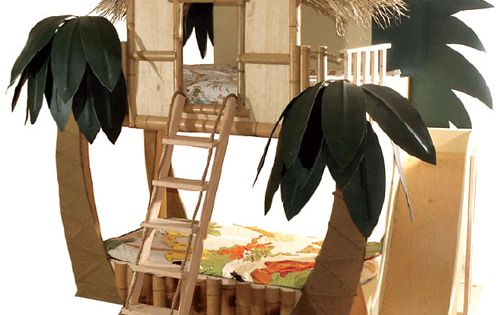 Cool for kids. Tropical Surf Shack Bunk Bed