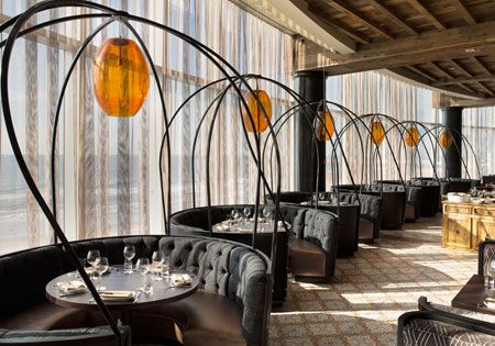 Pin By Hsiang Lin On Interiors Space Design Restaurant Seating Hotels Design Restaurant Interior