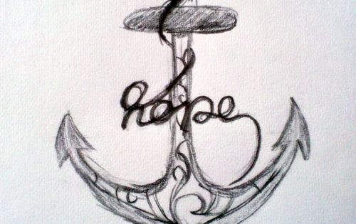 This makes me want to design my own hope anchor design :)
