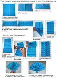 Pliage En Papier Realiser Un Eventail Double Plis Pliage De Serviette De Table En Papier En Forme D Pliage Serviette Eventail Espagnol Pliage Serviette Papier