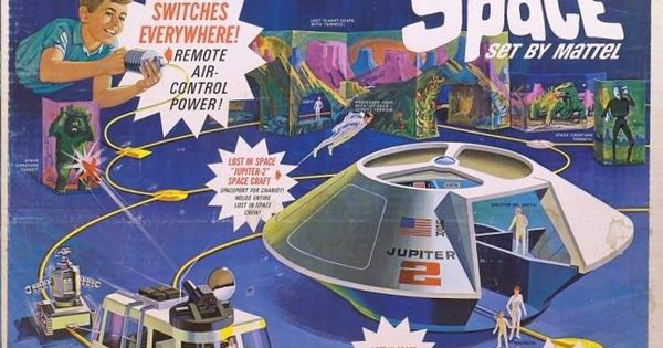 Vintage Toy Package Design: The Switch 'N Go Lost in Space ...