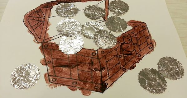 Summer School | Pinterest | Pirate Crafts, Coins and Crafts for kids