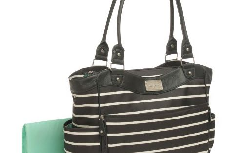 carter 39 s zip fashion diaper bag front stripe carter 39 s. Black Bedroom Furniture Sets. Home Design Ideas
