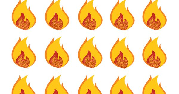 clipart pentecost flame