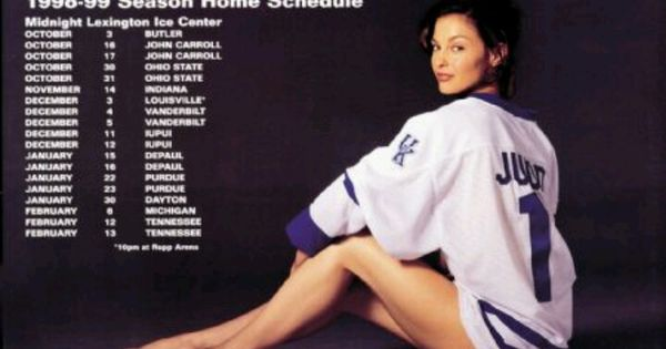 What S So Special About Kentucky Basketball: Ashley Judd, UK Hockey Poster.