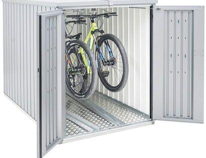 Biohort Minigarage Silber Metallic Kaufen Bei Obi Mini Garage Biohort Fahrradgarage