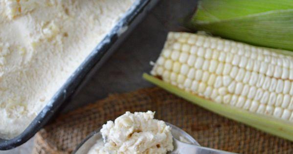 Helado de elote ma z choclo receta pan de elote for Como cocinar mazorcas de maiz