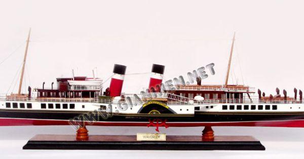 Model Ship Ps Waverley Model Ships Model Boats Wooden Ship Models