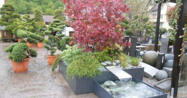 Hochbeet Kombiniert Mit Wasserspiel Garten Hochbeet Garten Wasserspiele