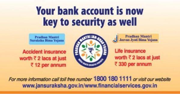 Pradhan Mantri Suraksha Bima Yojana Bima Accident Insurance Insurance