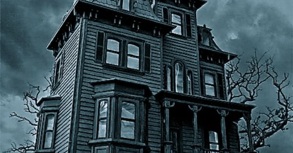 Haunted house halloween pinterest haunted houses for Pinterest haunted house