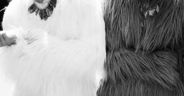 fur coats and top knots