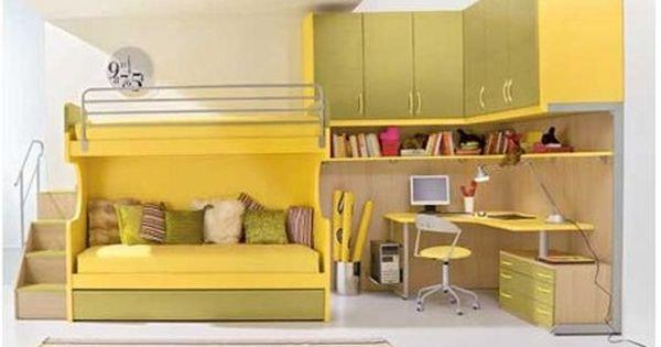 Habitaciones juveniles tendencias e ideas para la for Habitaciones juveniles pinterest
