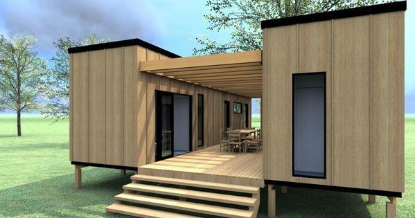 Casas prefabricadas constru das con contenedores una - Diseno de casas con contenedores ...