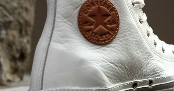 Converse - The classic shoe gets a leather boost