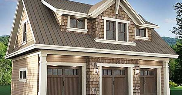 Plan 14631rk 3 Car Garage Apartment With Class Decking