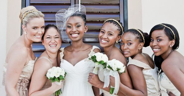 Super Real South African Wedding Inspiration By Kiekie Photography Short Hairstyles Gunalazisus