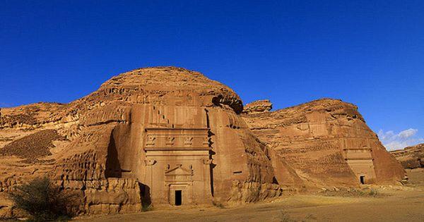 Madain Saleh Saudi Arabia Deserts Of The World World Heritage Sites Adventure World