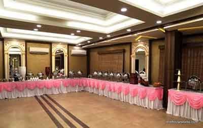Banquet Hall Interior Designing Projects At Hotel Meenal Residency