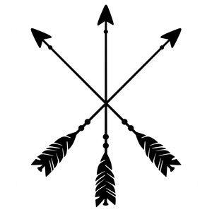 Silhouette Design Store Crossed Arrow Logo Crossed Arrow Tattoos Crossed Arrows Arrow Logo