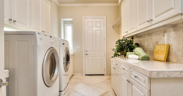 Transitional Laundry Room With Closetmaid Superslide 72 In X 12 In Ventilated Wire Shelf Crown Molding Flus Laundry Room Laundry Room Design Flush Lighting