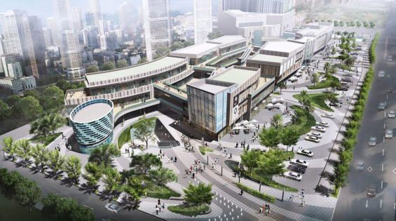 Vanke hefei retail destination by aspect studios for Aspect landscape architects