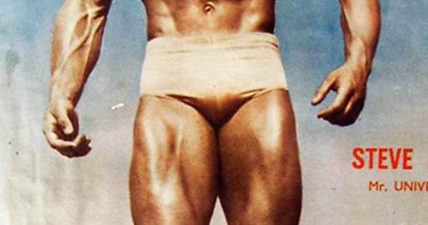 Steve Reeves won the first ever NABBA Mr. Universe in 1950