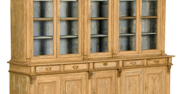 An enormous bibliotheque display cabinet from france c for British traditions kitchen cabinets