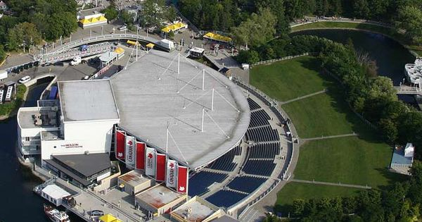 Molson Canadian Amphitheatre Seating Chart View We