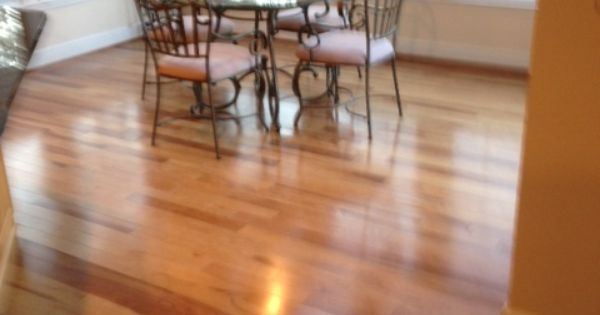 Mohawk hickory color golden caramel hardwood floors for Laminate flooring barnsley