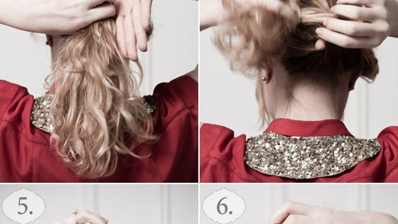 "Hair Tutorials ""The Romantic French Hair Styles