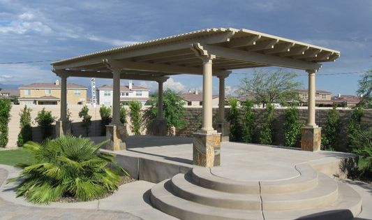 Free standing patio cover plans free standing pergola for Free patio cover plans