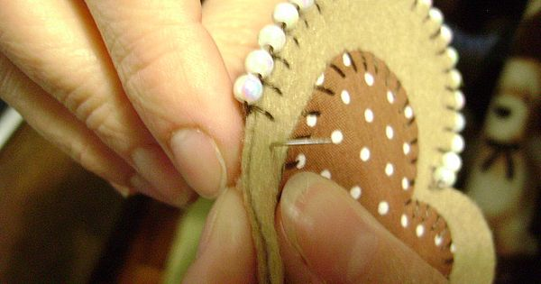 beaded blanket stitch -I will have to try this for babies afgahan