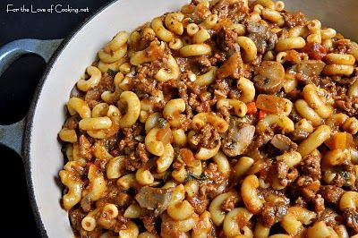 Italian Goulash Recipe Food Recipes Food Recipes Using Ground Beef