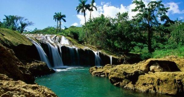 Cuba Travel Beautiful Waterfalls Waterfall