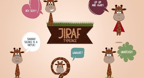 Jiraf is silly and maybe goofy but at the same time he is elegant and sharp – Giraffe
