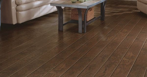 Laminate flooring wood real touch henna hickory dupont for Dupont flooring