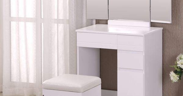 le miroir trois faces coiffeuse simple moderne multifonctionnel de maquillage de table. Black Bedroom Furniture Sets. Home Design Ideas