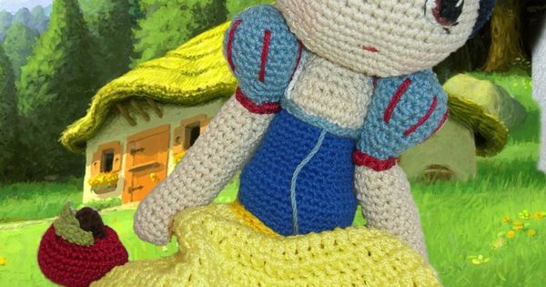 Amigurumi Snow White - FREE Crochet Pattern / Tutorial ...