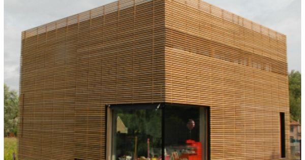 Nieuwbouw modern kubus houten gevelbekleding architect wim geens nieuwbouw modern - Huis modern kubus ...