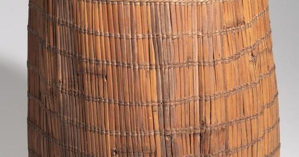 BASKET AFRICAN ETHNOGRAPHIC COLLECTION Catalog No: 90.0