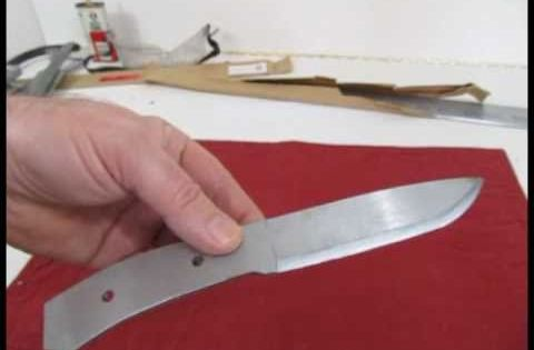 how to make a real knife