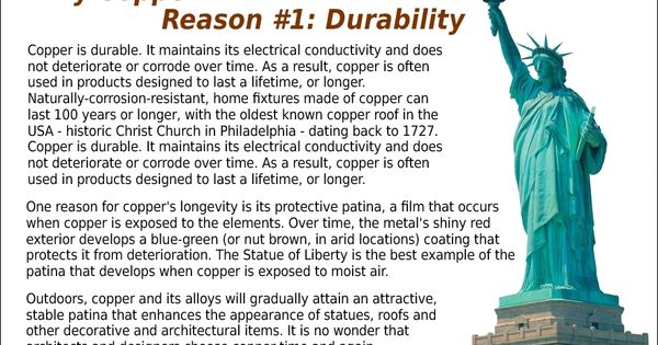 Why Copper Reason 1 Durability It Lasts Early