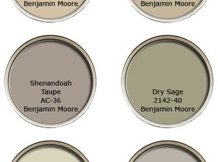 Benjamin Moore neutral paint colours. Always be sure to sample before you
