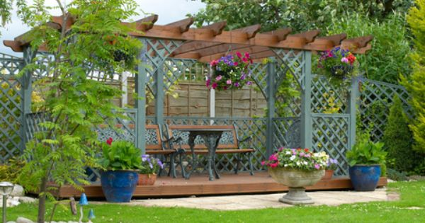 Do It Yourself Home Design: How To Convert A Pergola Into A Greenhouse