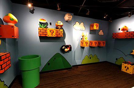Juggle Offices Mario Wall Room Super