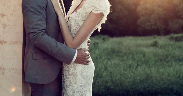 Lace wedding gown / Steven Khalil love love love the dress