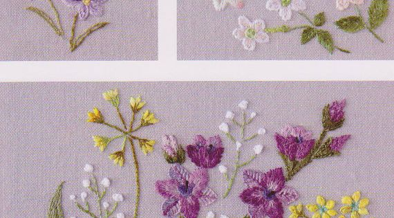 PDF Pattern of One day in my garden hand embroidery pattern sewing
