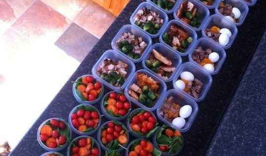 how to prep for a week of healthy eating. (sooo helpful) repin